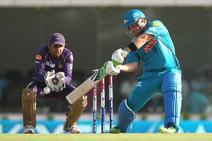 Aaron Finch may be without a team for now, but there is no doubt that if he is picked at the auction, this Aussie can send the ball into orbit whenever his bat makes perfect connection.
