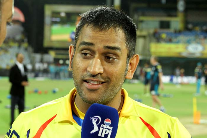 MS Dhoni has been a prolific face for Chennai Super Kings in the Indian Premier League. He has led his side to the title twice and in the 2013 edition too, has shown confidence and poise. A look. (BCCI image)