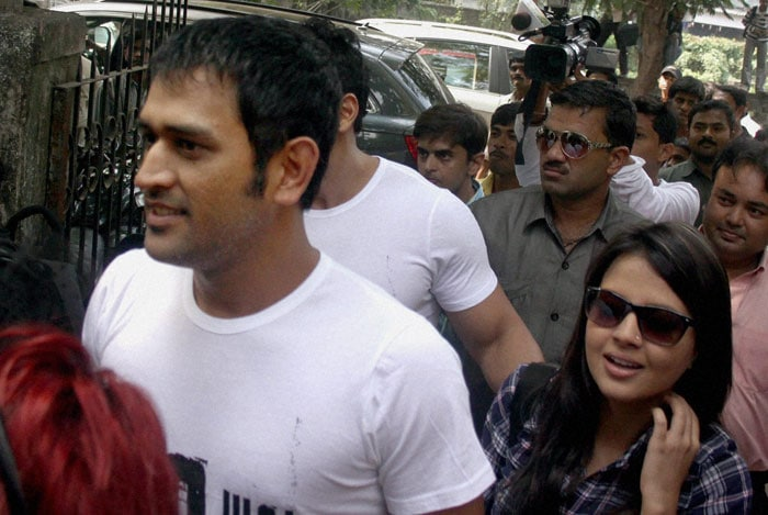Apparently, Dhoni steered clear of the media and didn't have anything to say. (PTI Photo)