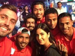 Photo : MS Dhoni Joins Bollywood Stars as U Mumba Win Pro Kabaddi League