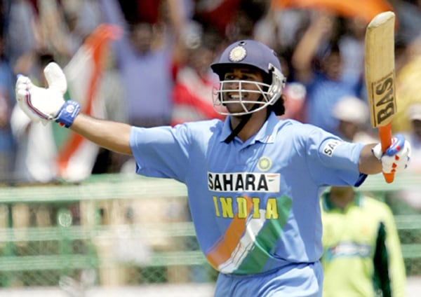 Born on July 7 1981 in Ranchi, Dhoni shot to fame in 2005. Though he made his debut in December 2004 against Bangladesh, he got noticed in international cricket after his blazing knock of 148 runs against Pakistan in Vishakhapatnam. That knock hailed his arrival.
