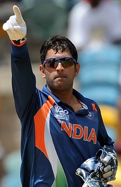 In less than 3 years since his debut, he made a place for himself in the star-studded Indian team. After a disastrous ICC World Cup in the Caribbean, Dhoni was made captain of the ODI side.