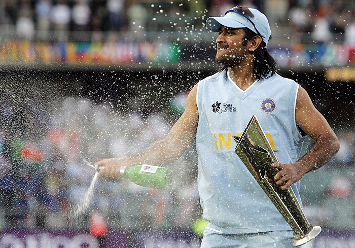 Under his instinctive and innovative captaincy, India won the inaugural T20 World Cup. After 1983, it was the first time that India won a World title.