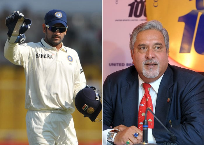 Indian captain MS Dhoni has signed a Rs 26 crore-deal with Vijay Mallya's UB Group for three years, making it the biggest endorsement deal for an Indian sportsperson.<br><br>UB will activate the deal with Dhoni during the ICC World Cup and will use him extensively for promotion during the showcase event next year.<br><br>The Indian skipper currently endorses 22 brands.