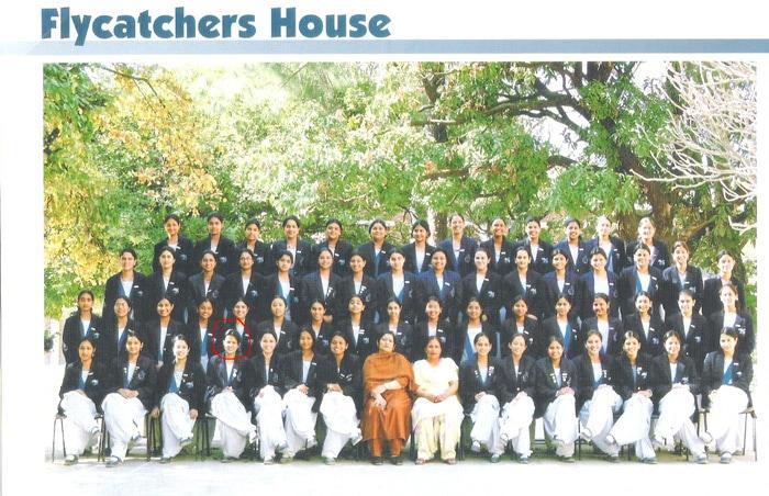 Dhoni's wife, Sakshi studied in the famous Welham Girls' School in Dehradun.