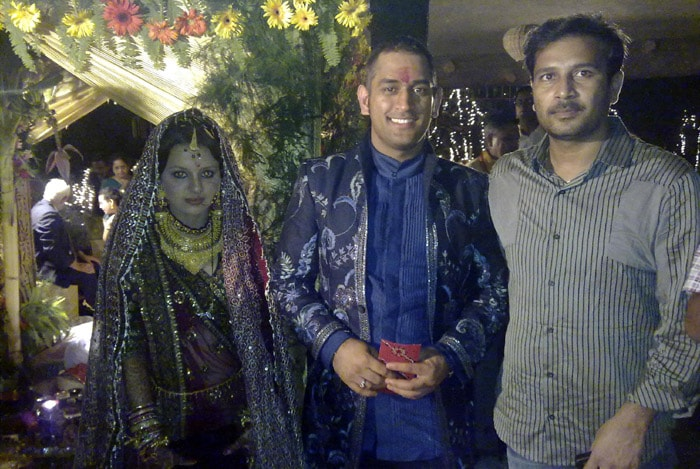 In the Dhoni-Sakshi wedding, a 15-course vegetarian meal was served to the guests.