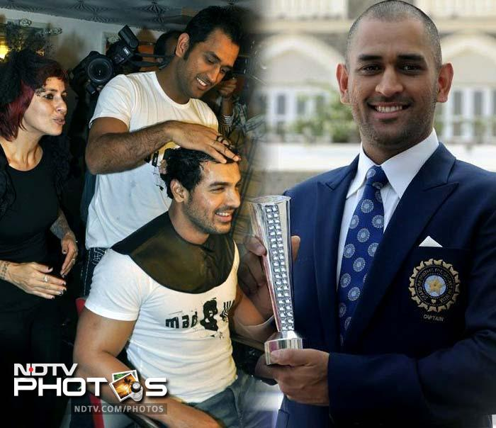 And when someone features in as many commercials as Dhoni does, style becomes a 'job-requirement.' So while Dhoni has gone from long locks to short hair and his current clean-shaven look, he has also catapulted himself endorsing 20 brands, just behind Shah Rukh Khan.