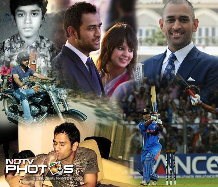 On a day MS Dhoni announced his retirement from Test cricket (December 30, 2014), NDTV takes a look at some of his most iconic pictures from the past. (Agency images)