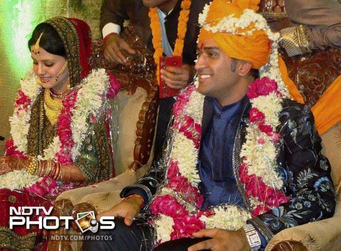 And our Indian skipper has not just been a charismatic leader but a suave man as well. He married Sakshi, his childhood friend and a student of Hotel Management, in a private ceremony on July 4, 2010.