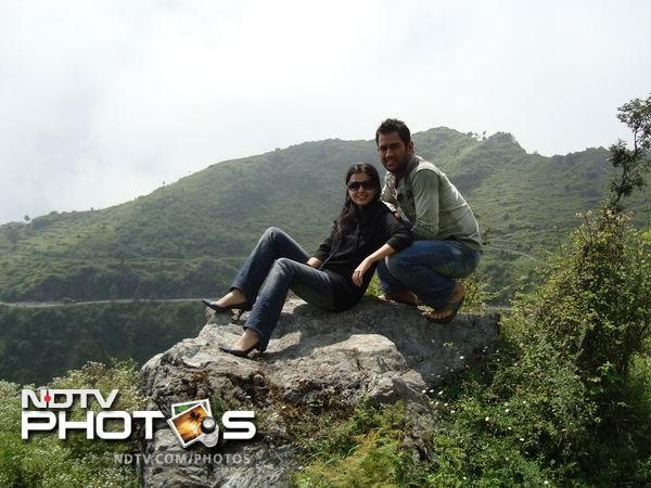 Dhoni and his wife have been clicked together at many holiday-spots in the last one year although most were part of his cricketing tours.