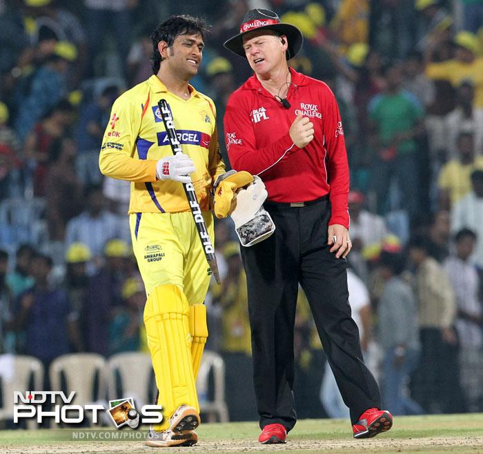 Dhoni has led Chennai Super Kings to the Indian Premier League title twice. CSK also won the CL T20 once.