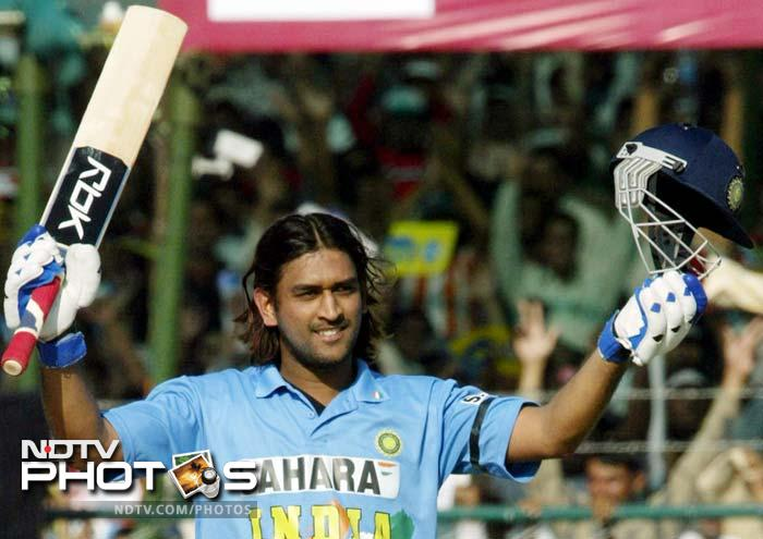 He made an impact with his 148 against Pakistan in only his fifth ODI in 2005. He would score and unbeaten 183 against Sri Lanka later that year which would prove his utility as wicket-keeper batsman