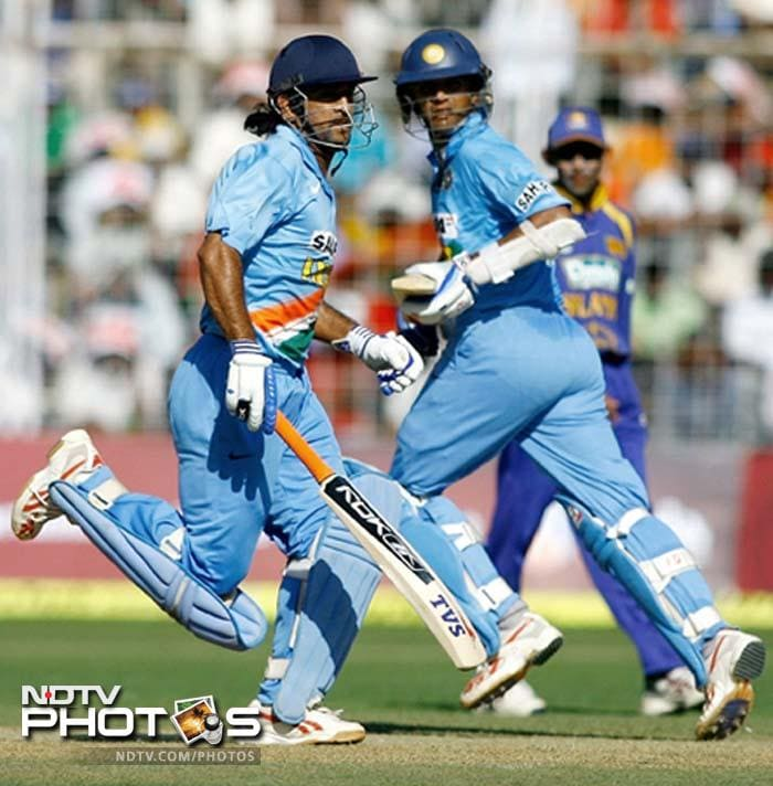In 2005, MSD equalled Sourav Ganguly's record of scoring 183 runs, the second highest score by an Indian. He smashed an unbeaten 183 off 145 balls with 15 fours and 10 sixes in Jaipur, as India successfully chased Sri Lanka's 298. It is the highest ODI score by a wicketkeeper.