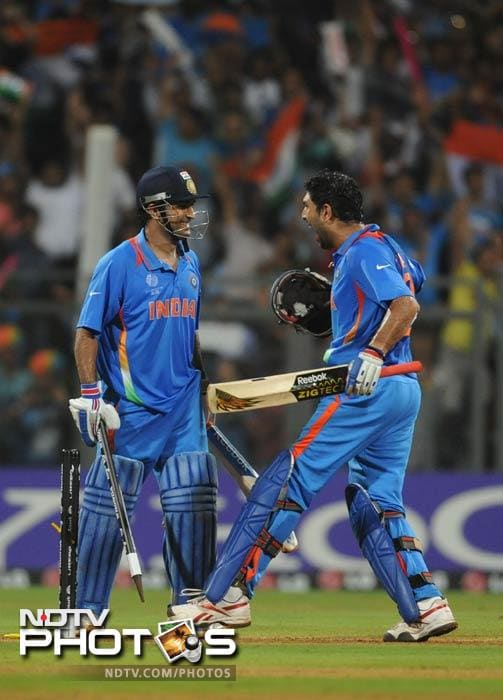 In the three World Cup finals, Dhoni's unbeaten knock of 91 runs is the highest by an Indian skipper. His 91 off 79 balls is the third highest by a captain in a World Cup final. Ricky Ponting tops the list with his unbeaten 140 runs which he had scored against India in 2003.