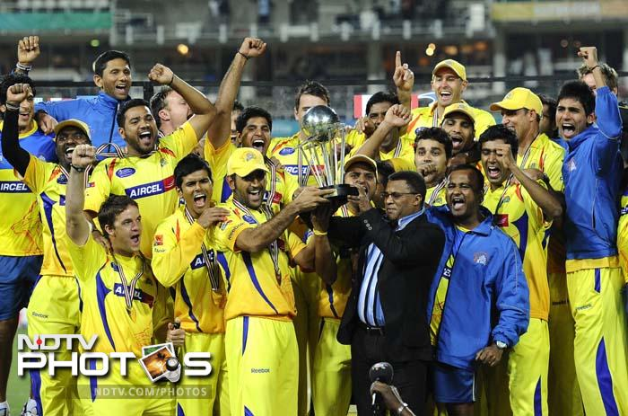 <b>Champions League 2010 win:</b> Last year, after Chennai made it to the Champions League T20, a tournament for domestic champions of all member countries, Dhoni made sure his team made its presence felt on the global platform. The Chennai Super Kings lifted the Champions League T20 trophy.