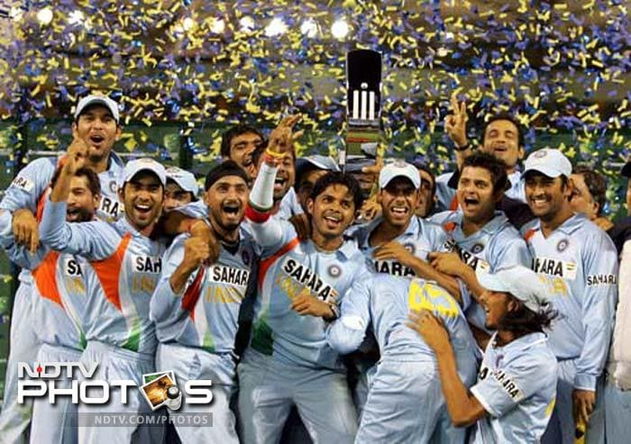 After a much-controversial Test series with Australia in 2008, India had to play the tri-series with the hosts and Sri Lanka. India won the CB Series, as the series was known, for the very first time since its inception. It came under Dhoni's captaincy even if it was Sachin Tendulkar's antics with the bat that played a pivotal role. However, Dhoni too scored 347 runs in 10 matches. That was the last edition of the tri-series and India proudly retains the trophy forever.