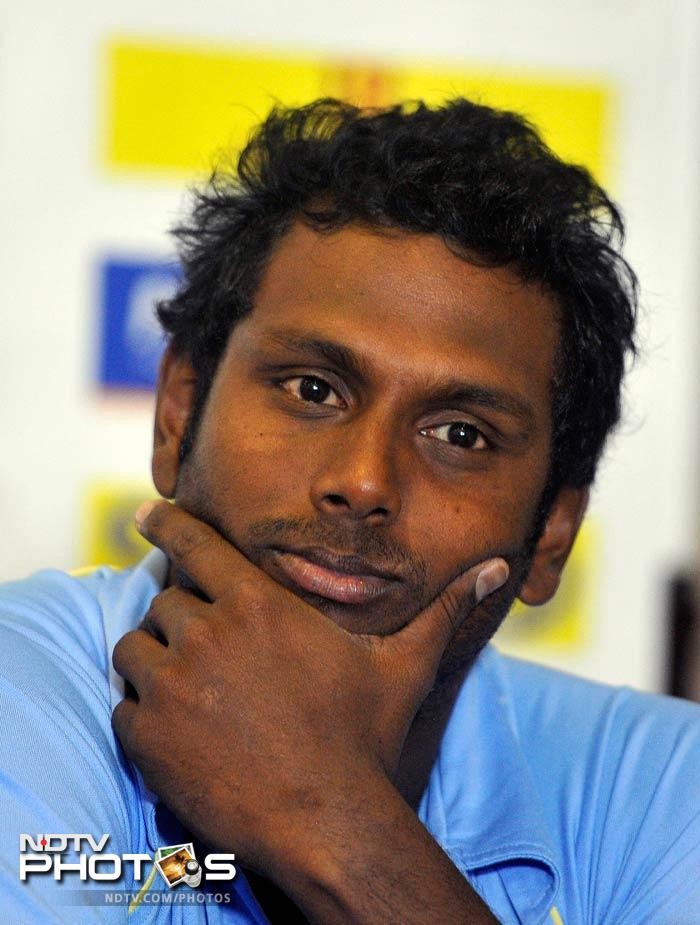 Sri Lanka skipper Angelo Mathews acknowledged his side would start as underdogs despite being ranked three places higher than the hosts in fifth.