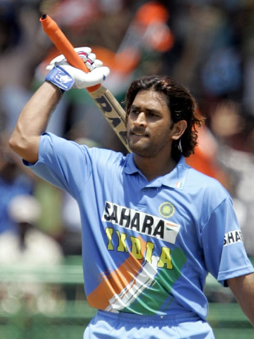 M S Dhoni in 2005. (AFP Photo)