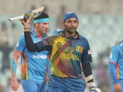 Photo : World T20: Dilshan's Classy Fifty Helps Sri Lanka Overcome Afghanistan