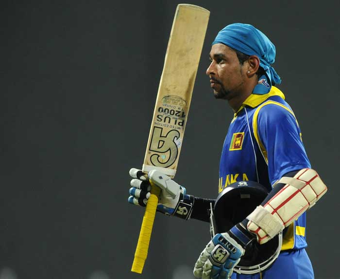 Before the World Cup final, Dilshan played eight matches and scored 467 runs at an average of 66.71. (AFP Photo)