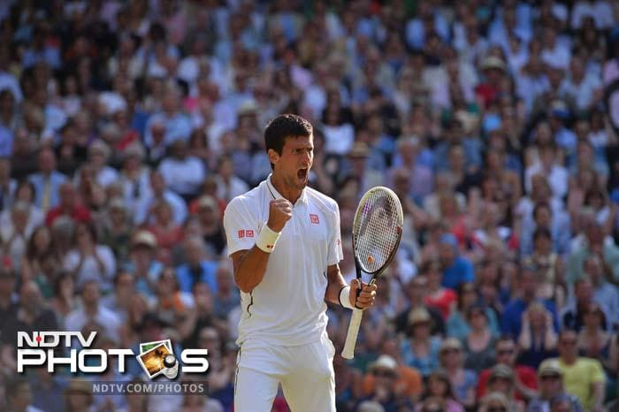 The top-seeded Serb, bidding for a seventh Grand Slam crown, fired 22 aces and 80 winners against the luckless Del Potro, the 2009 US Open champion.