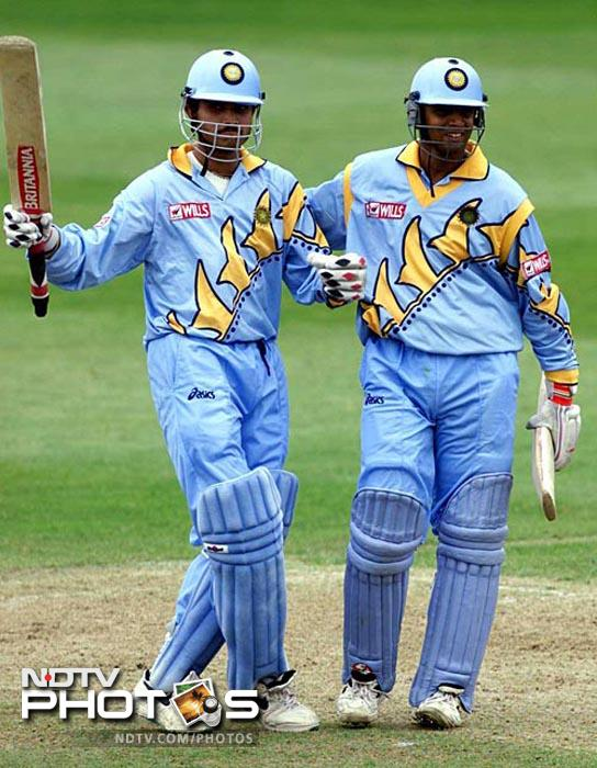 Dravid was involved in two of the largest partnerships in ODIs: a 318-run partnership with Sourav Ganguly, the first pair to combine for a 300-run partnership, and then a 331-run partnership with Sachin Tendulkar, which is the present world record.