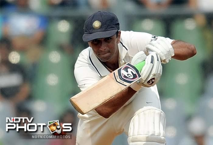 Rahul Dravid became the second man to cross the 13,000-run mark in Test cricket during India's first innings of the third Test match against West Indies.