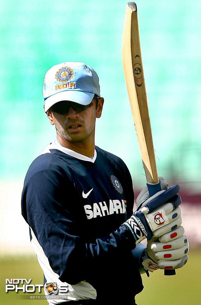 During his captaincy tenure, India broke the 14-match West Indies record for most consecutive successful run-chases in ODIs. For this 17-match run, Dravid was the captain for 15 games while Sourav Ganguly was captain for the other two.