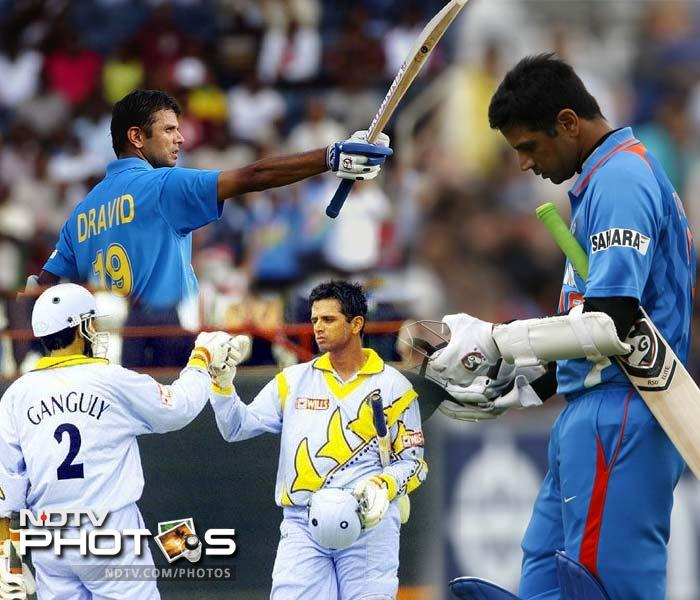 Here's a look at the amazing journey that The Wall undertook in his illustrious ODI career.