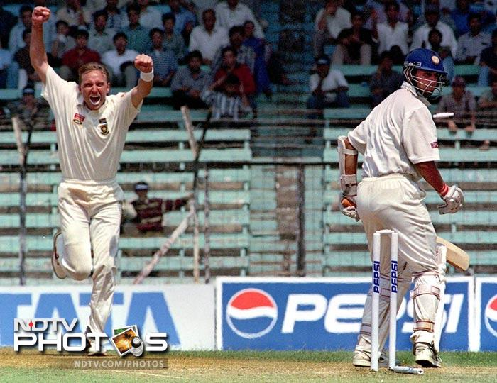 Rahul Dravid's attacking avatar in ODIs did not please Allan Donald, who racially abused him after being hit for a six during his quick fire 84-run innings. The South African fast bowler however, mentioned it in his autobiography and said that the incident happened in the heat of the moment.