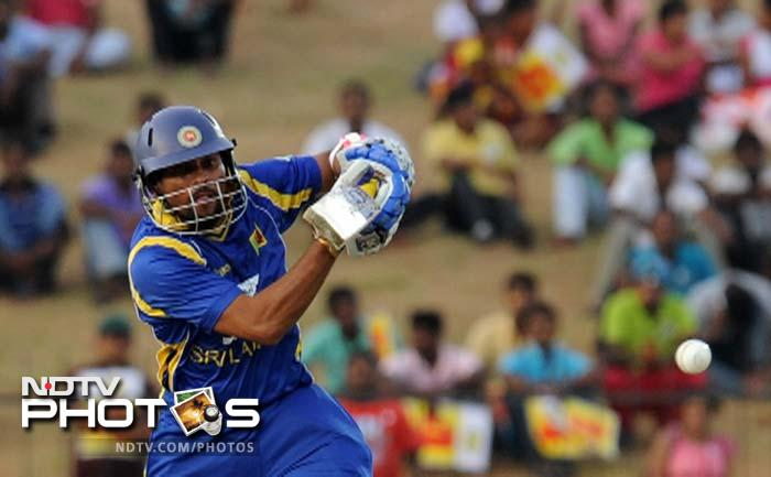 In a clinical display by the Lankans, India were handed a nine wicket defeat at Hambantota to level the ODI series 1-1. (All AFP Photos)