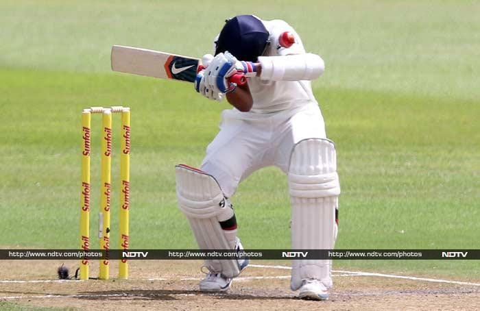 Rahane, who had been playing second-fiddle to Kohli and who was struck on his body twice by Steyn, stood up to take charge.