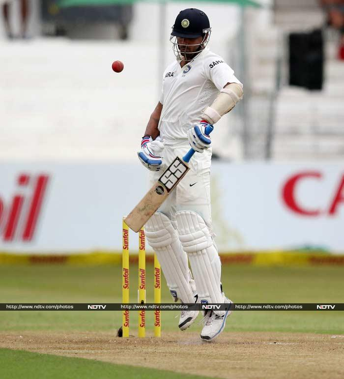 Murali Vijay (in pic) and Cheteshwar Pujara began the innings and looked set to make South Africa toil once again.