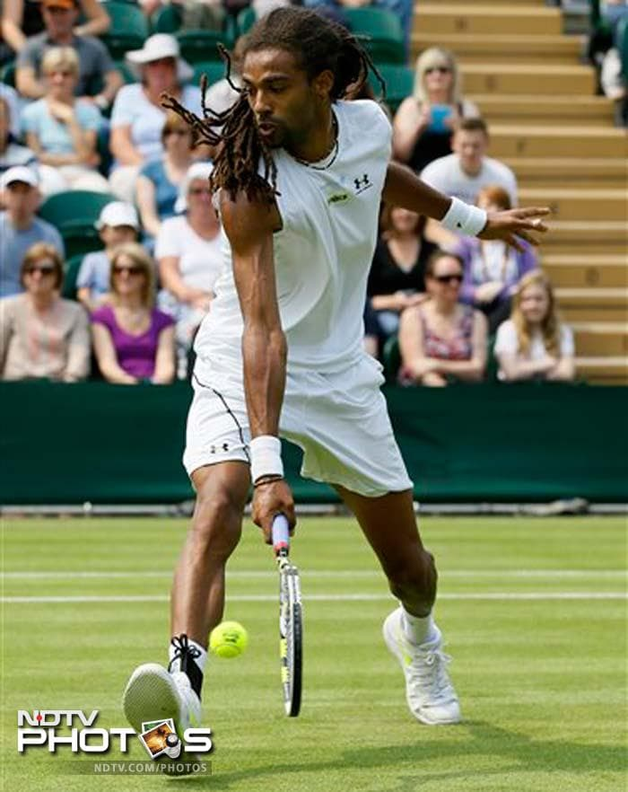Dustin Brown is first player to wear his Twitter handle @DreddyTennis printed on his tennis shirt.