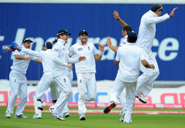 It was a massive win in terms of numbers as well as in terms of power-shift for England and the celebrations were obvious.