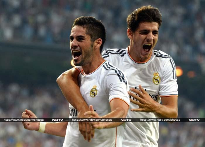 Isco scored 4 minutes from full time and that gave Real a much needed 3 points to start the season.