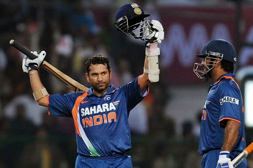 In February 2010, one of the most awaited records was made. And what made it even more special was the Achiever himself. The Man who reminded Bradman of his playing days, sits on the pinnacle of records. Sachin Ramesh Tendulkar - the highest run scorer in both Tests and ODIs with maximum number of centuries in both formats, created history after he scored the first ever double century in One-Day Internationals.<br><br>He had once come closer to it but missed it by 14 runs. Saeed Anwar and Charles Coventry missed it by a whisker as both these players had scored 194 runs each. But it had to come from the Master. So was the destiny!<br><br>Playing the second ODI against South Africa in Gwalior earlier this year, Sachin batted throughout the 50 overs to score unbeaten 200 runs. It was a magnificent knock, not just because of the feat achieved, but also because of the manner in which it was played. Initially he just took singles, hit offered boundaries. It was placement, technique and timing. And once he had a cramp after crossing the 150-run mark, he simply started hitting from the crease, making up more than for the missed singles.<br><br>Indian skipper MS Dhoni, perhaps for the first time in his career, was jeered by the Indian fans for hitting big sixes, as his shots just delayed Sachin's feat and left him with fewer balls to achieve it. It was just the perfect climax for the happy ending. Playing third delivery of the last over, Sachin took a quick single to complete 200 runs and as they say rest is history.<br><br><a href='http://cricket.ndtv.com/gallerydetails.aspx?id=850&category=SPORTS'>Sachin creates history</a>