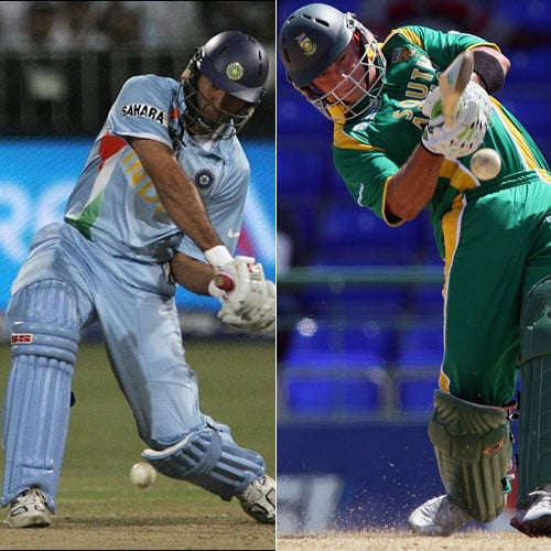 Sir Garfield Sobers did it in 1968 and Ravi Shastri did it 1985. But no cricketer could ever do it on the international stage till 2007. And it happened twice that year, though in two different formats.<br><br>Playing against Netherlands in the 2007 World Cup in the Caribbean, South Africa's Herschelle Gibbs made history by hitting six sixes in an over. And the bowler at the receiving end was DLS van Bunge.<br><br>Few months later, it happened again and this time it was India's Yuvraj Singh. During the inaugural T20 World Cup, India were up against England. Andrew Flintoff, not learning from his past mistakes, tried getting under Yuvraj's skin. Perhaps he didn't know, it's never a good idea to rub a 'Punjabi' the wrong way. But it was poor Stuart Broad who had to face his wrath.<br><br>Yuvraj slammed six sixes. With this he also avenged the bashing Dmitri Mascarenhas gave him as he had hit Yuvraj for 5 sixes a few months back. Yuvraj's fiery knock had England out of the tournament.