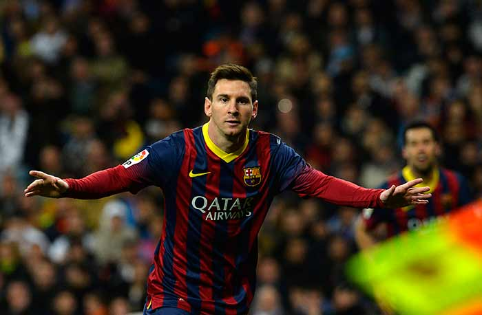 Messi, then converted two penalties in the 65th and the 84th minute to complete a hat-trick and become the highest scorer for Barcelona in El Clasico history.