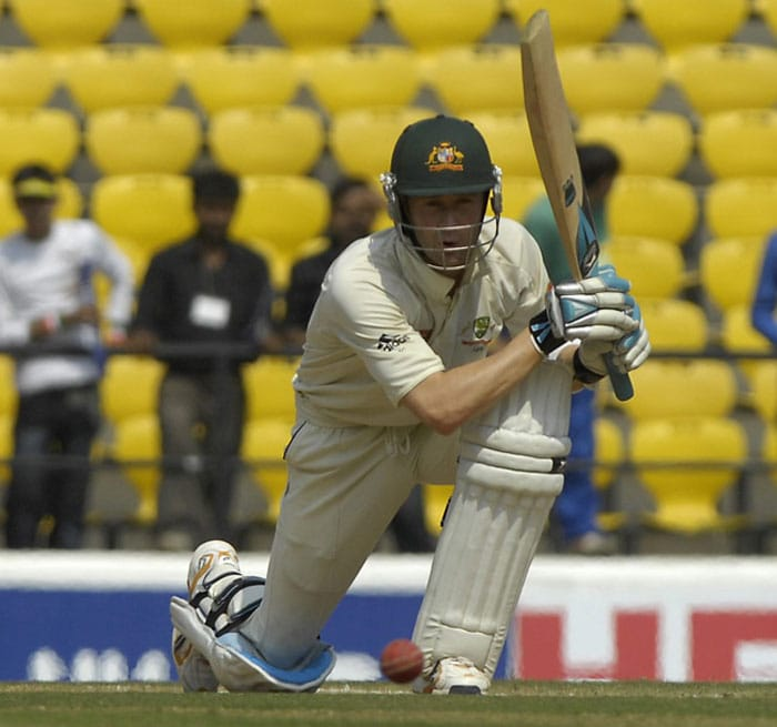 "<b>Michael Clarke:</b> Possibly the last of the modern batsmen in the classical mould, the Aussie skipper gives the purists a good enough reason to continue following the sport.<br><br>Text Courtesy: <a href=""www.mid-day.com"" class=""fn fl fa fs12""><span class=""fr"">Mid-Day.com</span></a>"