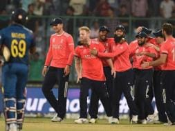 Photo : World T20: England Knock Defending Champions Sri Lanka Out of Tournament