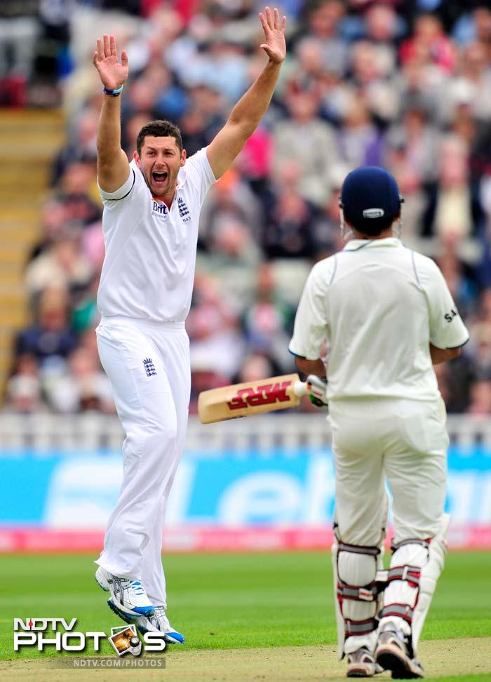 <b>Tim Bresnan</b>: He might look like a dibbly-dobbly, wibbly-wobbly bowler at first sight but the way India and Australia were dismantled by the strong lad, the mistake to take him lightly would definitely prove costly.<br><br> His 16 wickets in 3 Test matches against India came at an economy of 2.85 and averaging 16.31. Although the South Africans played him with aplomb, doubting his capabilities will be naive.