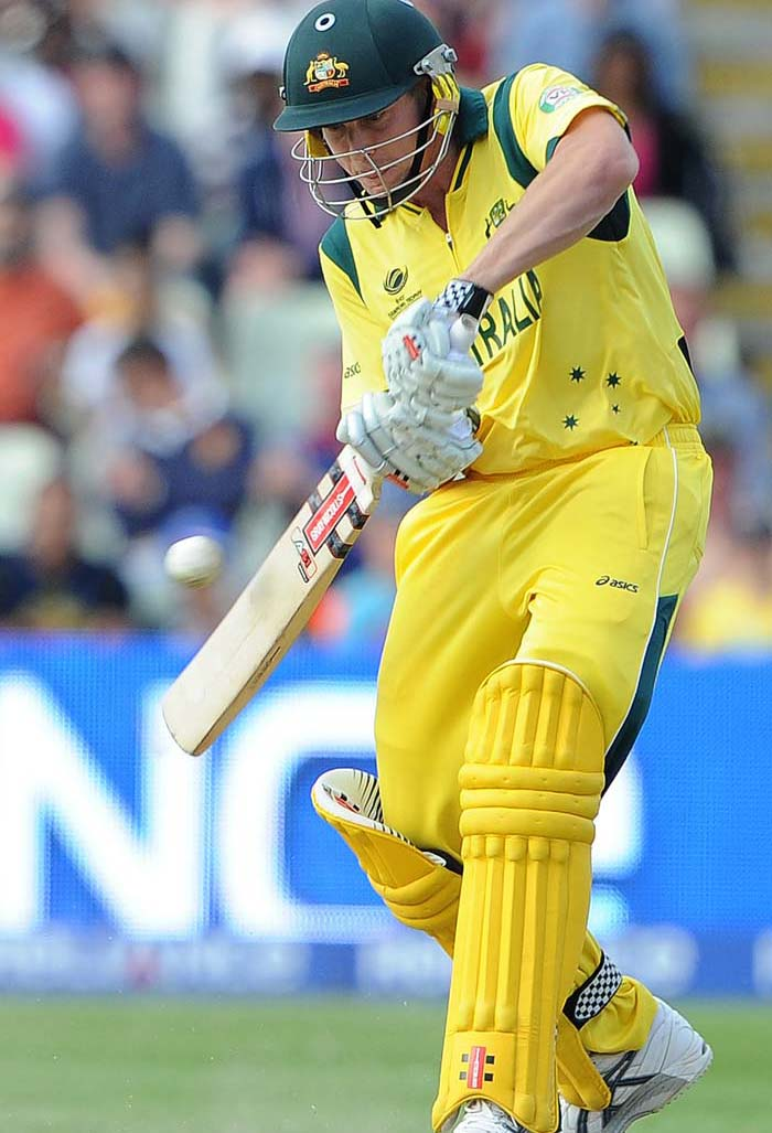 James Faulkner justified his billing as an all-rounder - scoring a 42-ball 54 - that added gloss to what was a meek Australian batting effort.