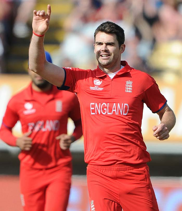 James Anderson, with 237 wickets at an average of 29.58 in 170 matches, is now the leading England wicket-taker in ODIs, eclipsing Darren Gough's tally of 235 at 26.42 in 159 matches.