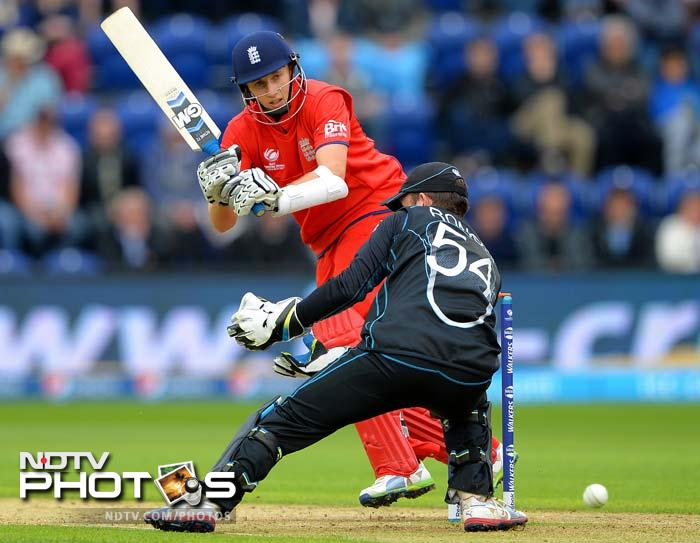 Cook was involved in a fruitful 75-run third wicket partnership with Joe Root (38) after the hosts were reduced to 25 for 2 in the fourth over of a rain-hit match.