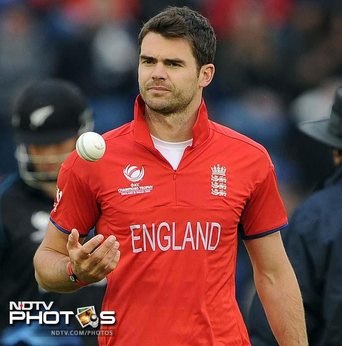 James Anderson was yet again England main bowling threat, ending with 3/32. He moved the ball both ways and generated some hostile pace as the Kiwi batsmen failed to find their feet.