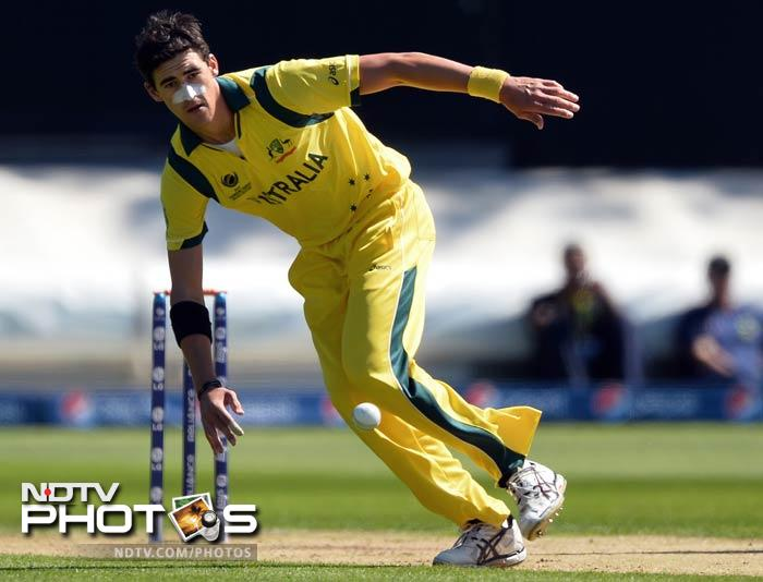 Mitchell Starc failed to deliver with the ball as he was smashed for 75 runs and picked up just 1 wicket.