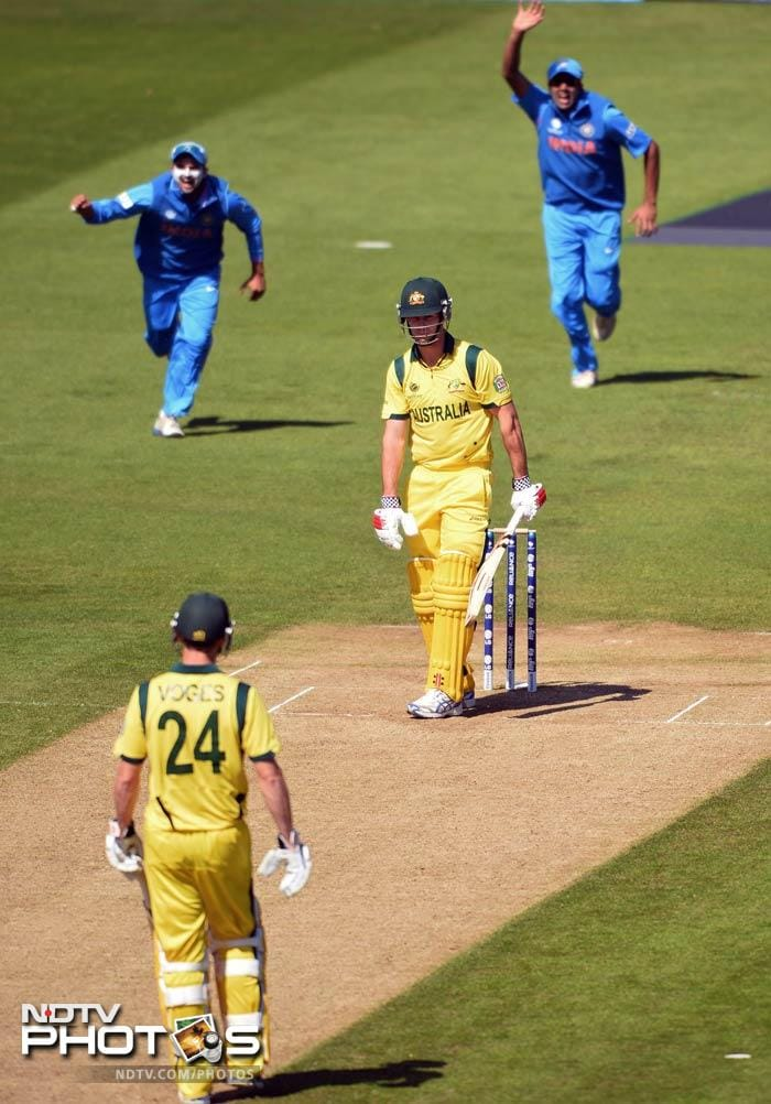 The Australian batsmen's weaknesses were exposed when they were bowled out for 65 against India in their warm-up and England exploited it to the full.