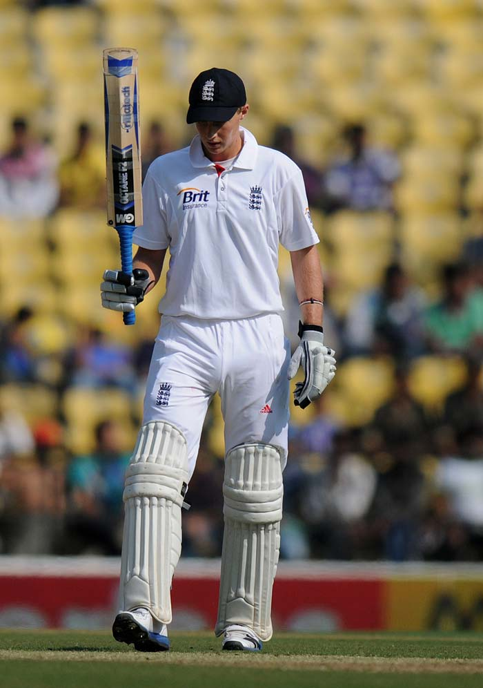 Team India would have harboured high hopes from their batsmen but that was not to be. The bowlers too did not do the clean up job brightly and let England score 330 on what looked a dicey pitch in Nagpur. Debutant Joe Root, though, was absolutely magnificent. (Photo credit: BCCI)