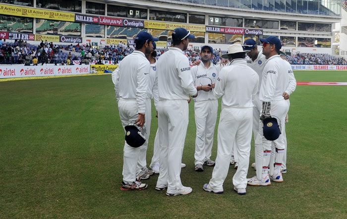 <b>Team India underestimated England:</b> It's been an age old saying that 'never underestimate your opponent', and former India captain Sunil Gavaskar only reiterated it. After the win in Ahmedabad, India became complacent because they underestimated the England team. And by the time, India realised their mistake, England were 2-1 up. (Image Courtesy: BCCI)